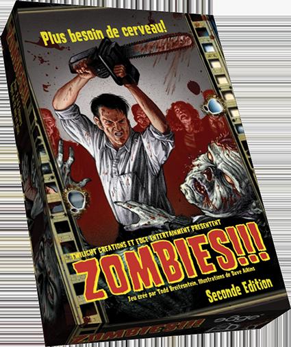 Zombies!!! 2 à 6 personnes [Présentation] Zombies!!!
