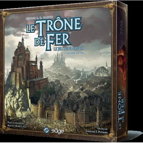 Le Trône de Fer - 2nd edition 2 à 6 personnes [Présentation]  Tronedefer
