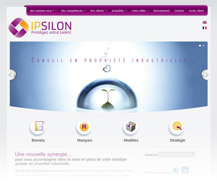 ipsilon-site-page