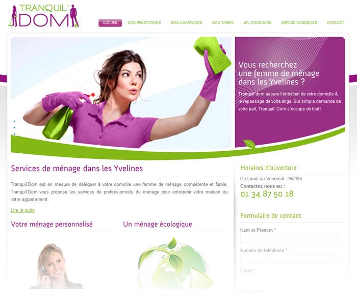 tranquildom-site-page